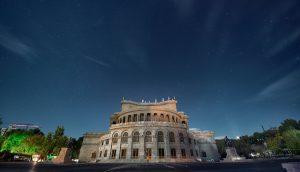 Opera Square Yerevan Armenia